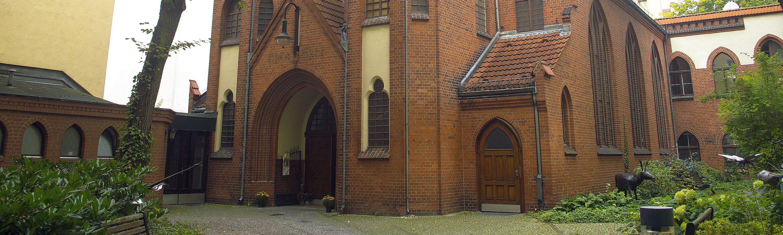 Friedenskirche Außenansicht